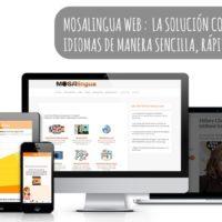 MosaLingua Web, tu solución completa para aprender idiomas fácilmente con PC o Mac
