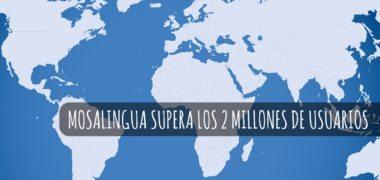 MosaLingua supera los dos millones de usuarios
