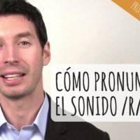 Cómo pronunciar el sonido R en inglés americano