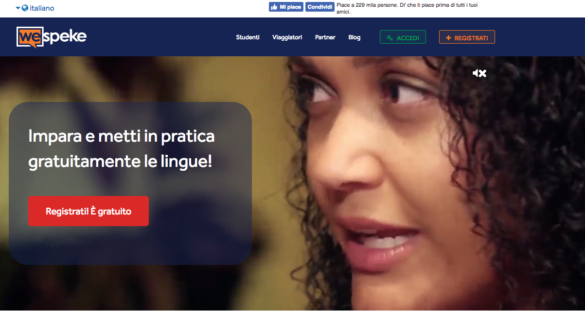 scambio linguistico