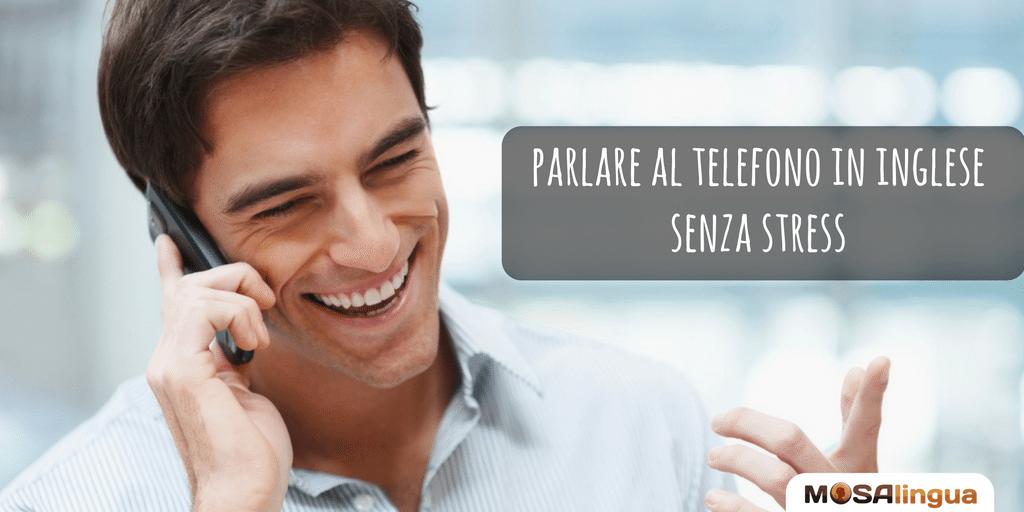 parlare al telefono in inglese