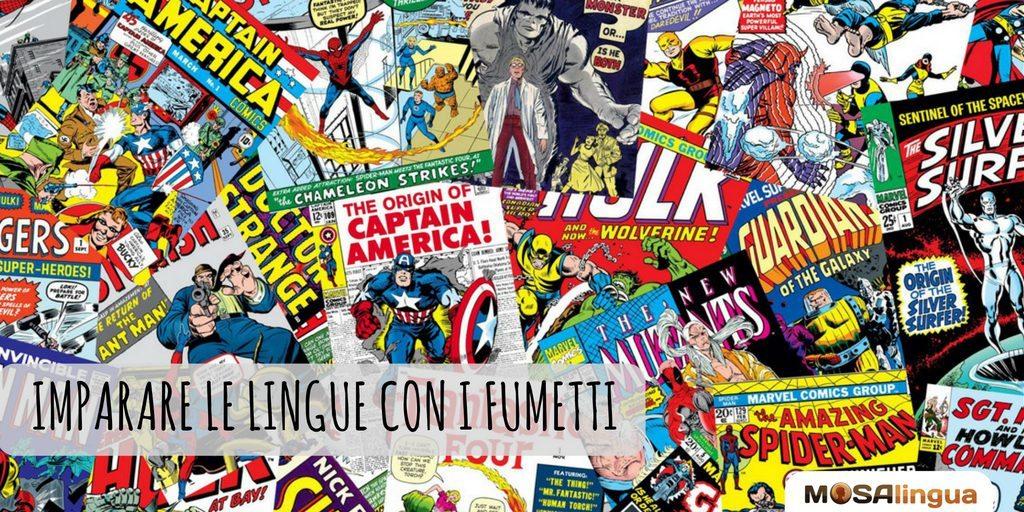 It imparare le lingue con i fumetti