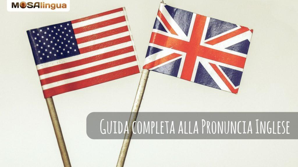 pronuncia inglese