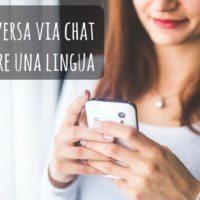 Imparare le lingue con le chat