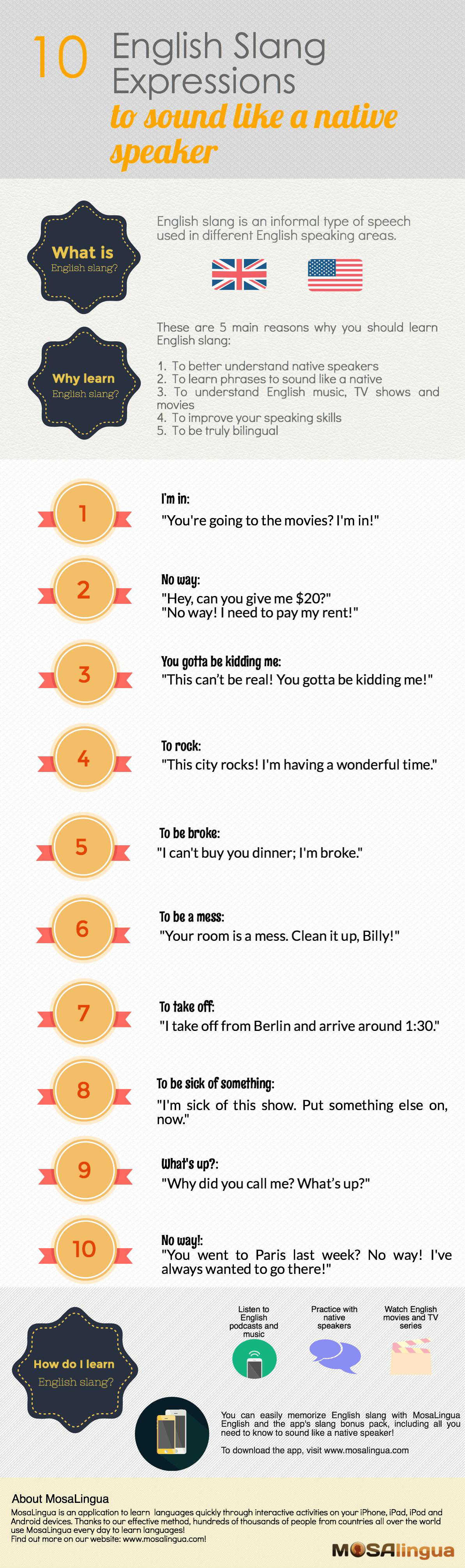 10 English Slang Expressions To Sound Like A Native
