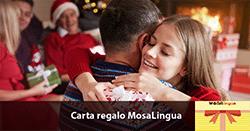 carta regalo MosaLingua