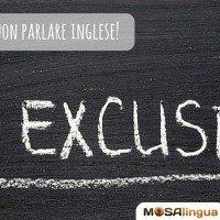 6 scuse per non parlare inglese correntemente