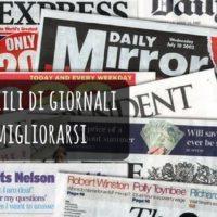 Leggere gli articoli di giornale in inglese per migliorare