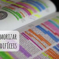 Técnicas de estudo: como memorizar informações difíceis
