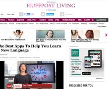 Huffington Post: MosaLingua é um dos melhores apps para aprender idiomas