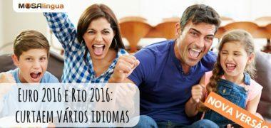 Luca e Sam apresentam a nova versão do MosaLingua (VIDEO)