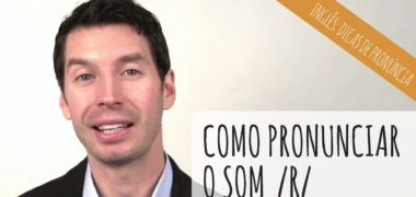 [vídeo] Como pronunciar o som /R/ do inglês americano