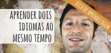 [VÍDEO] Como aprender dois idiomas ao mesmo tempo!