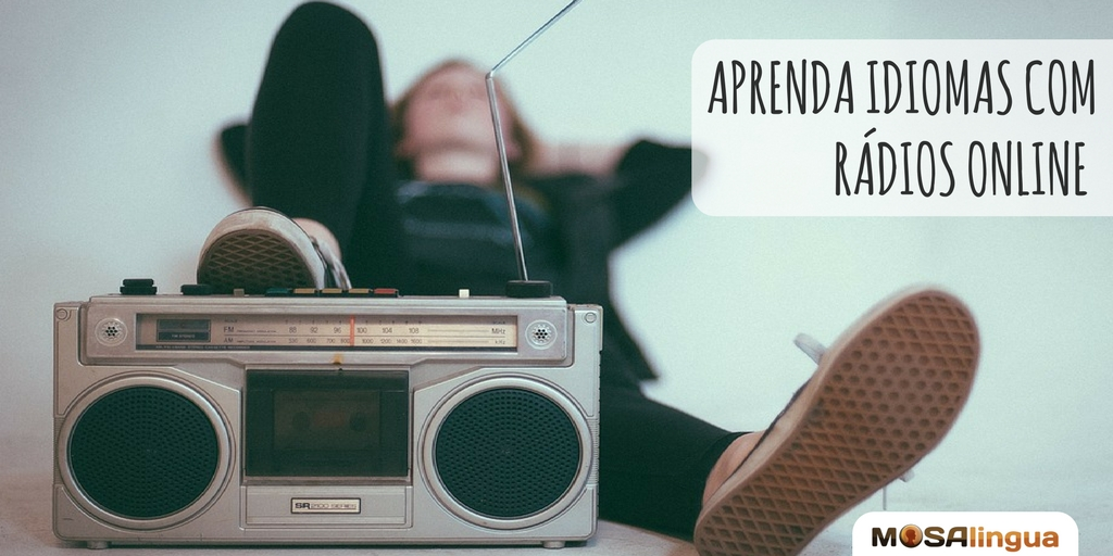 aprender idiomas com rádios online