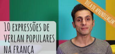 """10 expressões de """"verlan"""": uma forma de gíria tipicamente francesa"""