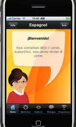 Des nouvelles de MosaLingua, l'application iphone pour apprendre l'espagnol Image
