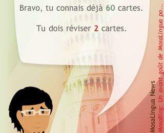 MosaLingua pour apprendre l'italien est disponible ! Image
