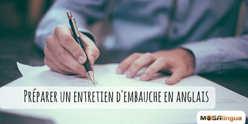 Preparer Un Entretien En Anglais Et Reussir Votre Presentation
