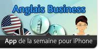 MosaLingua Anglais Business sélectionné comme «App de la semaine» par Apple Image