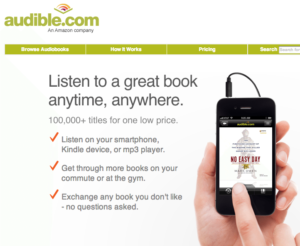 how to buy audiobooks on iphone audible