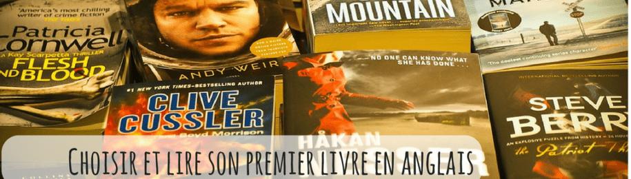 Livre en anglais : Comment choisir et lire son premier livre en anglais ? Image