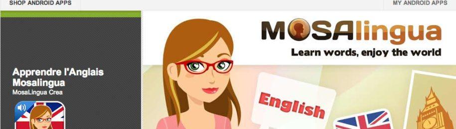 MosaLingua pour Android est disponible ! Image
