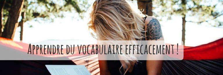 Comment apprendre du vocabulaire efficacement ? Image