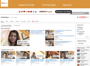 mosalingua-youtube-channel