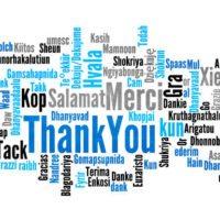 Merci à tous !