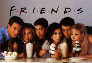 Friends sitcom zum Englisch lernen und verbessern