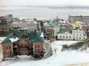 Nijnii-Novgorod, l'hiver