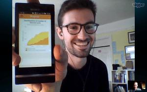 Tom, un anglais qui combine Italki et MosaLingua. 400 cartes apprises et déjà à l'aise avec le français !