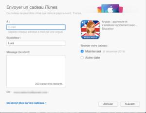 Offrir MosaLingua Confirmation iTunes