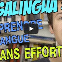 Vidéo test de MosaLingua, par une célébrité du web ;-)