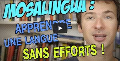 Vidéo test de MosaLingua, par une célébrité du web ;-) Image