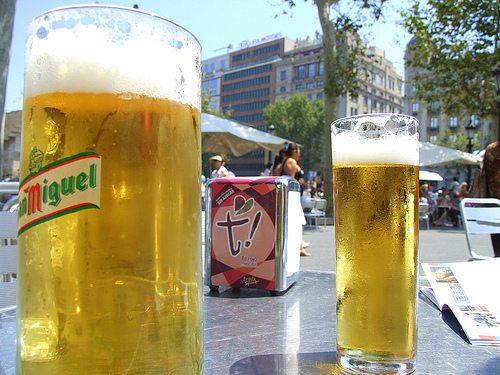 prendre un verre en argot espagnol