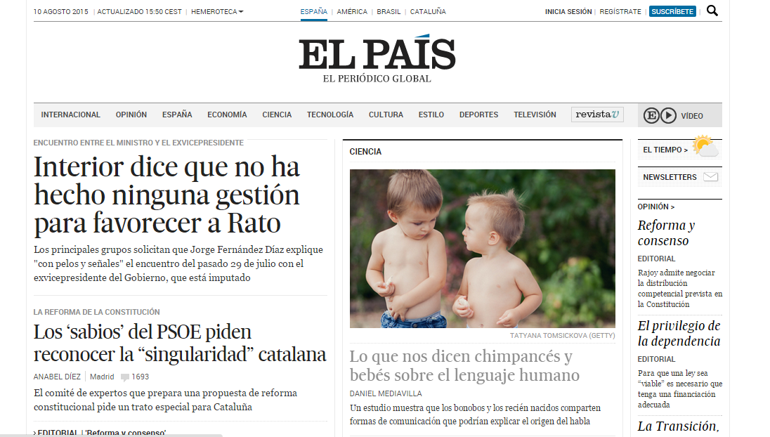 suivre l'actualité en espagnol