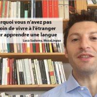 Partir à l'étranger pour apprendre une langue? Pas besoin: voici pourquoi (VIDEO)