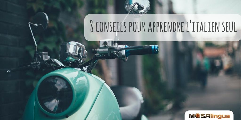 8 conseils pour apprendre l'italien seul