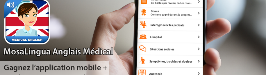 Jeu-Concours MosaLingua Anglais Médical Image