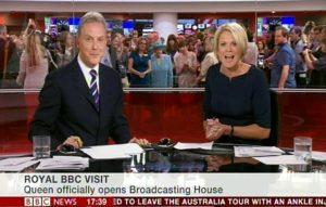 Regarder la télé, lire l'actu (et voir la reine d'Angleterre) en direct, pratique !