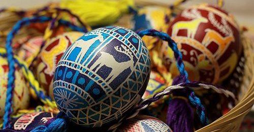 Traditions de Pâques dans des langues et des pays différents Image