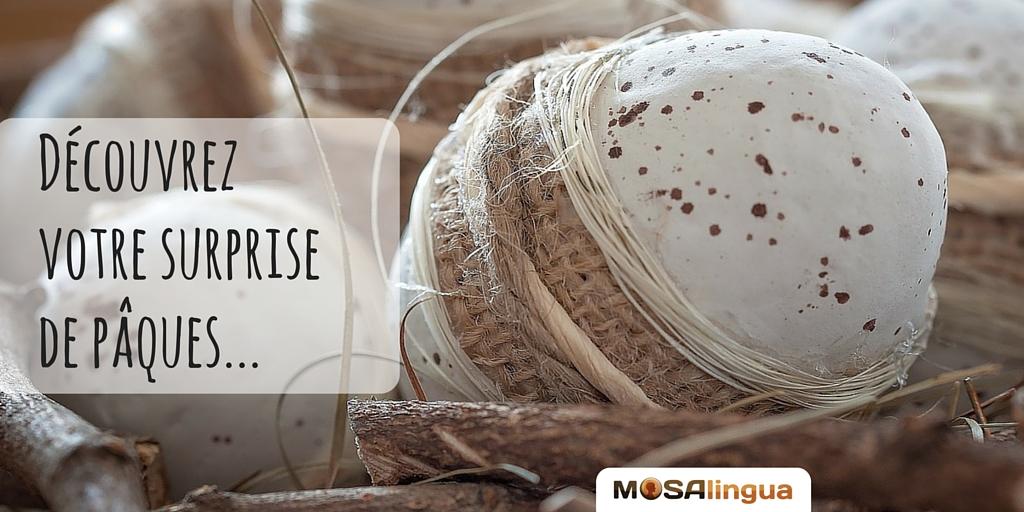 Surprise de Pâques MosaLingua