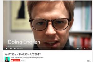 Chaînes Youtube pour apprendre l'anglais : Doing English