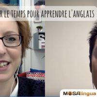 Comment trouver le temps pour apprendre l'anglais : Luca donne ses astuces dans cette interview