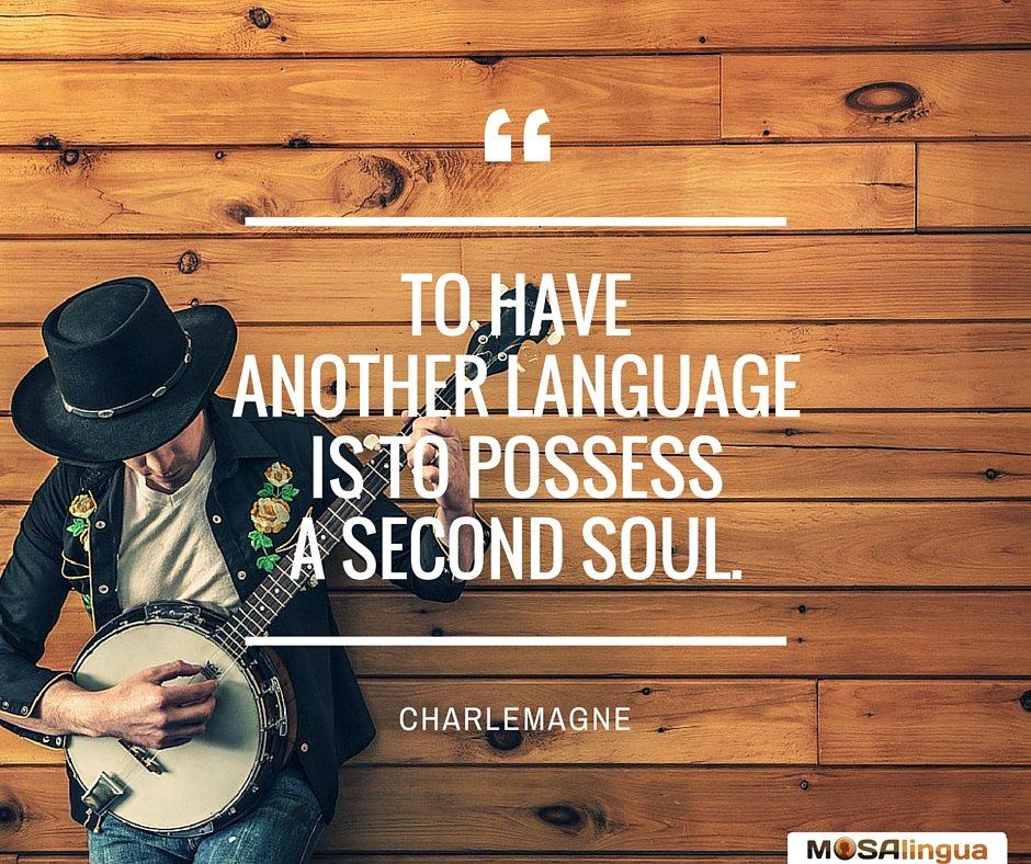 Parler une autre langue... - MosaLingua