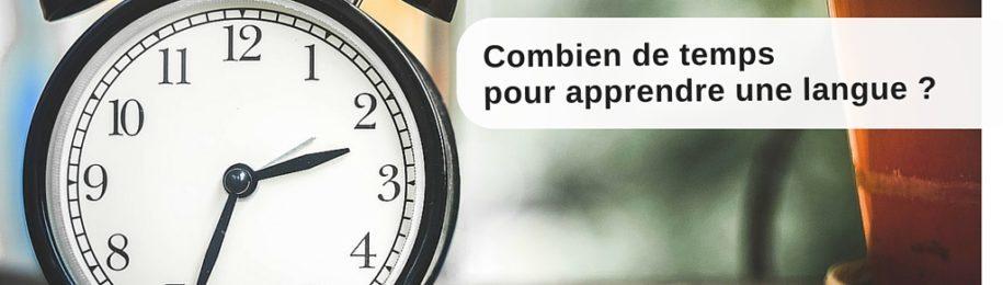 Combien de temps pour apprendre une langue ? Image
