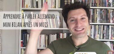 Apprendre à parler allemand : mon bilan après un mois