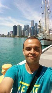 Anis, fan de MosaLingua web à Chicago