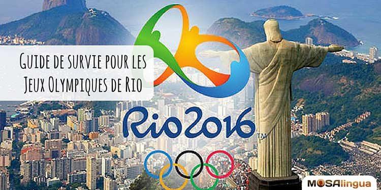 Titre de l'article de blog Guide de survie pour les jeux olympiques de Rio